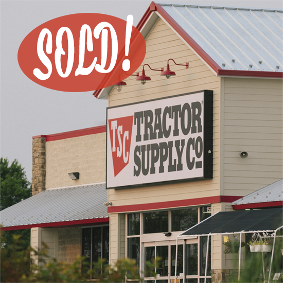 Tractor Supply Factory : Tractor supply company henzlik real estate